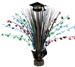 Multicolor Congrats Grad Spray Centerpiece