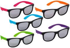 Neon Totally 80's Sunglasses, 10ct