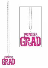Princess Grad Bling Plastic Bead Necklace