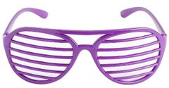 Purple Slot Glasses