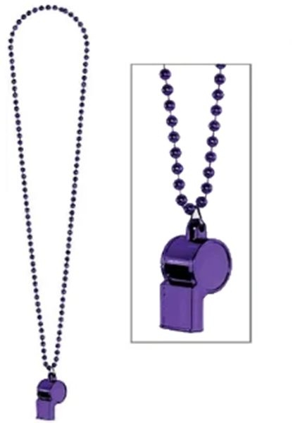 Purple Whistle Necklace