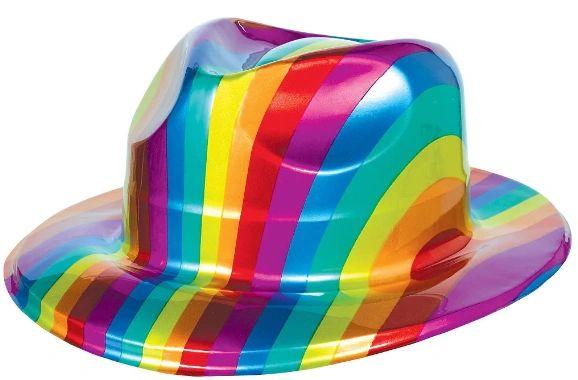 Rainbow Fedora