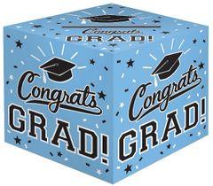 Grad Cardholder Box - Powder Blue