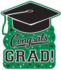 Grad Cutout - Green