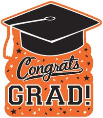 Grad Cutout - Orange