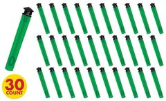 Grad Bubble Wands - Green, 30ct