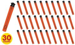 Grad Bubble Wands - Orange, 30ct