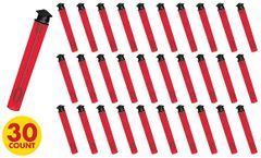 Grad Bubble Wands - Red, 30ct