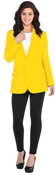 Adult Yellow Jacket M/L