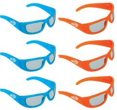 Nerf Glasses, 6ct