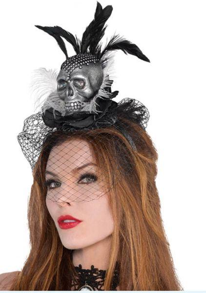 Black & Bone Fashion Skull Couture Headband