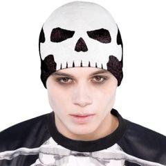 Black & Bone Skull Knit Cap