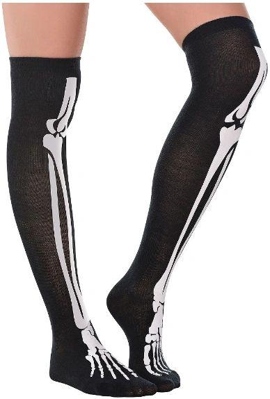 Black & Bone Over The Knee Socks