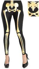 Golden Skeleton Leggings - Adult Standard