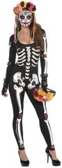 Day of the Dead Catsuit - Adult Standard