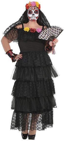 Day of the Dead Dress - Adult Standard & Plus-Size