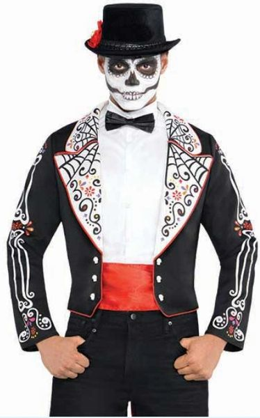 Day of the Dead Coat Set - Adult Standard & Adult Plus