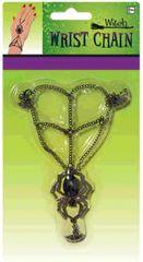 Gothic Web Bracelet/Ring Chain