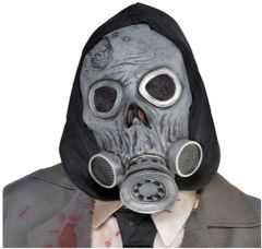 Zombie Hooded Gas Mask