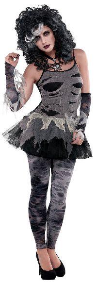 Zombie Petticoat Dress - Adult Standard