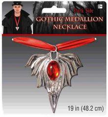 Gothic Medallion Necklace