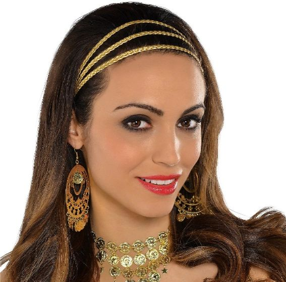 Godesses Gold Braided Headband