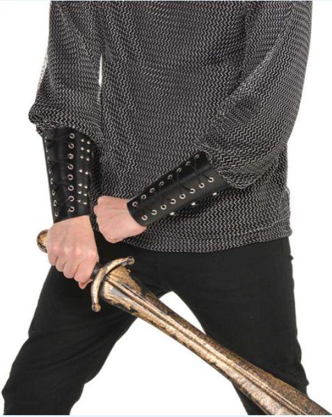 Gods' Warrior Black Cuff Set