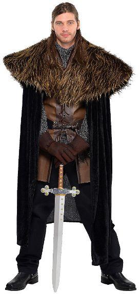 Gods' & Goddesses' Furry Shoulder Cape