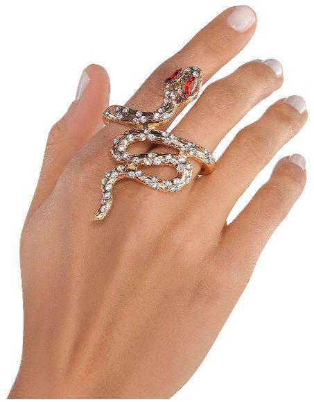 Godesses' Gold Snake Ring