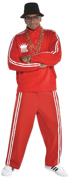 Hip Hop Old School Rapper - Men Standard