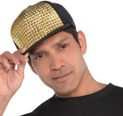 70s Hip Hop Bling Hat