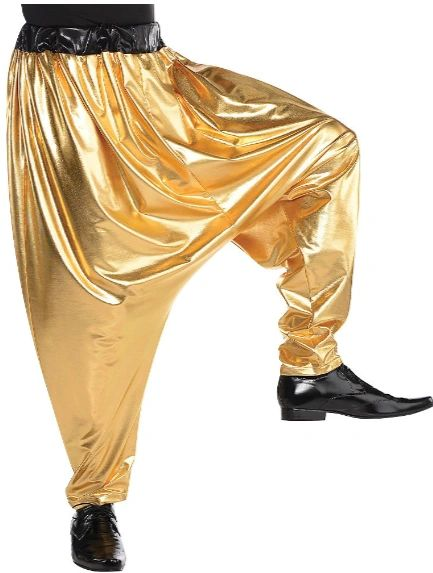 70s Hip Hop Harem Pants - Adult Standard
