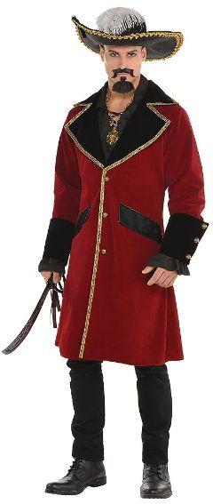 Pirate Captain Jacket - Adult Standard
