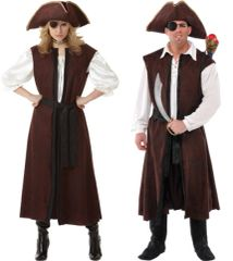 Pirate Shipwrecked Vest - Adult Standard