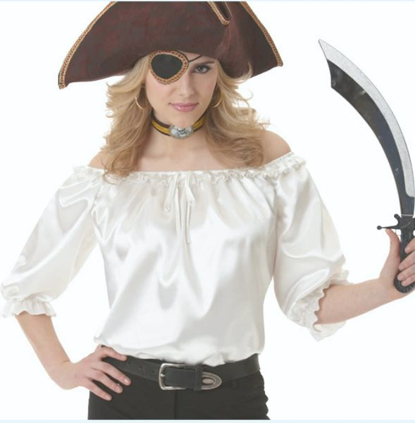 Pirate Ivory Blouse - Adult Standard & Plus