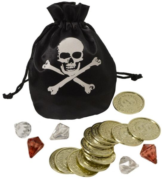 Pirate Coin Pouch Set