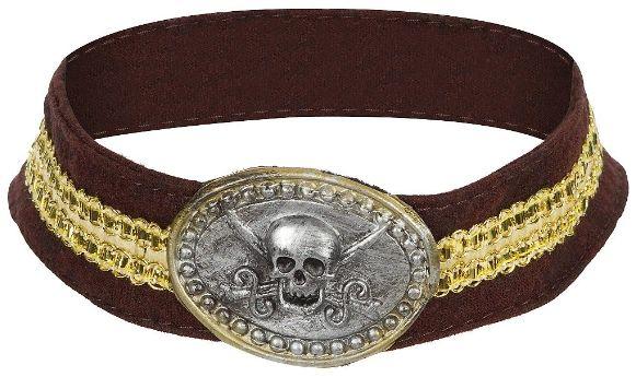 Pirate Skull Choker
