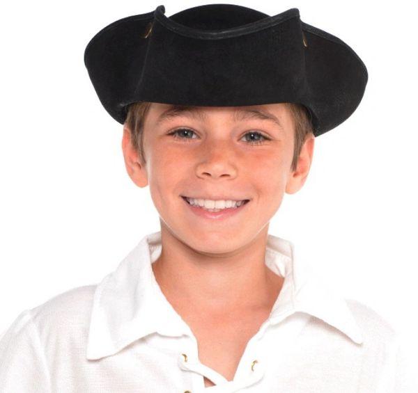 Pirate Deluxe Tricorn Hat - Child