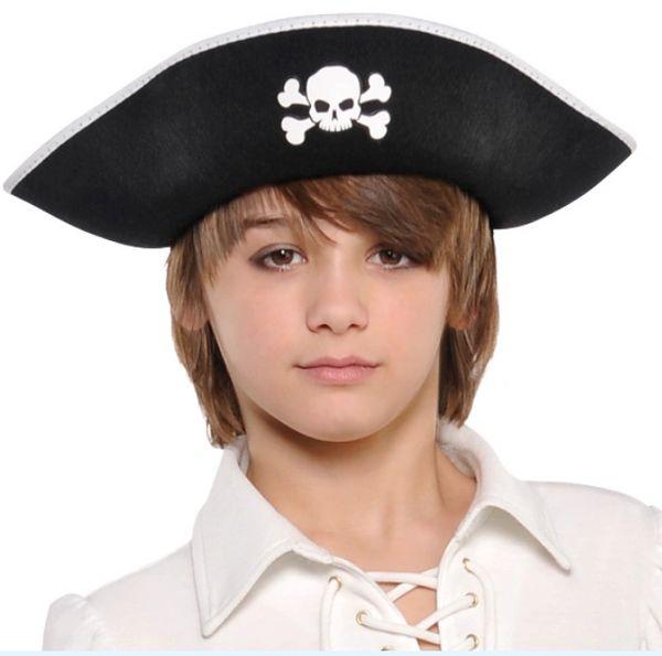 Pirate Black Hat - Child