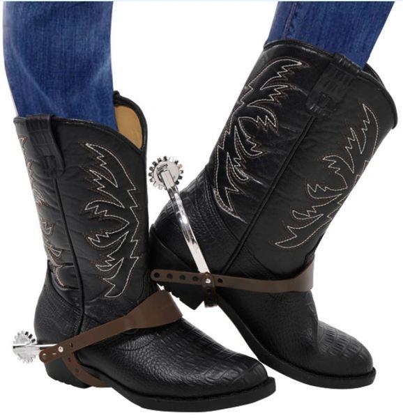 Cowboy Spurs - Adult