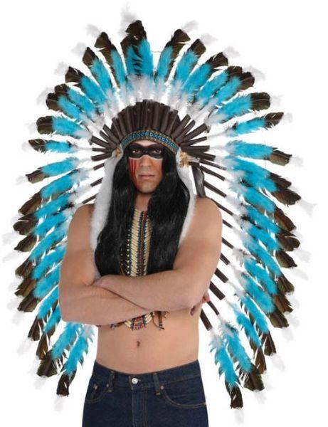 Deluxe Feather Headdress