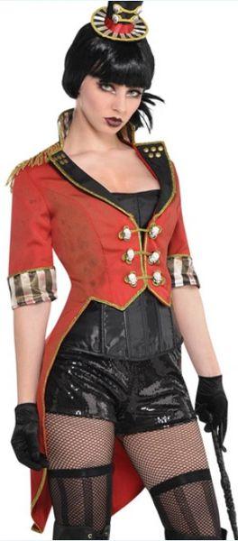 Ringmaster Tailcoat Jacket - Woman Standard