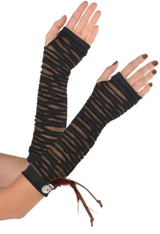 Long Witch Doctor Fingerless Gloves
