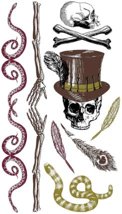 Witch Doctor Tattoos, 16ct