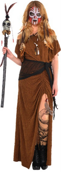 Witch Doctor Dress - Adult Standard