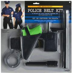Police Belt Kit, 7pc