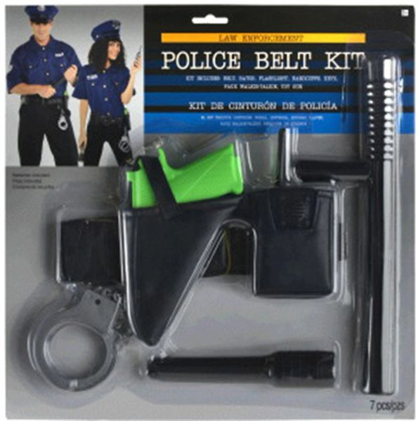 Police Belt Kit, 7pc