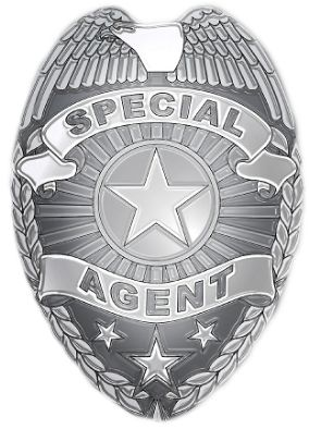 Special Agent Badge