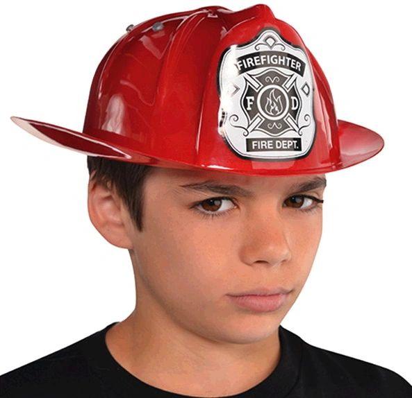Red Fireman Hat - Child