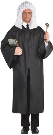 Judge Robe Black - Adult